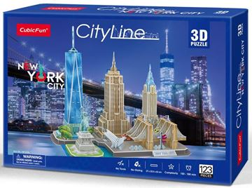 Picture of 3D Puzzle - New York City Line