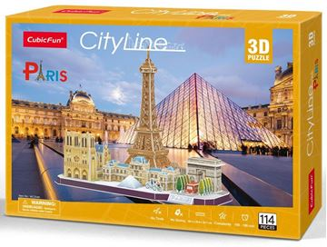 Picture of 3D Puzzle - Paris City Line