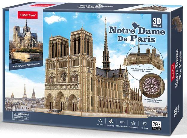 Picture of 3D Puzzle - Notre Dame de Paris