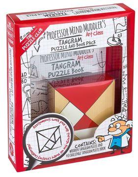 Picture of Professor Puzzle - Professor Mind Muddler's Tangram & Book