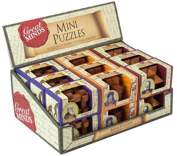 Picture of Professor Puzzle - Great Minds Mini Wood (18)