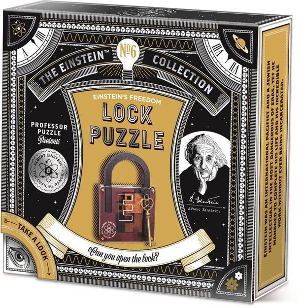 Picture of Professor Puzzle - Lock Puzzle