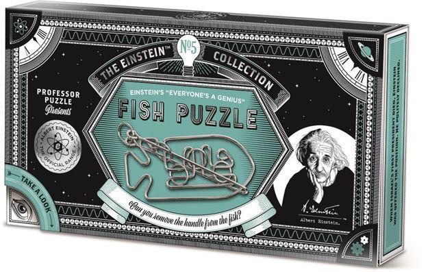 Picture of Professor Puzzle - Fish Puzzle