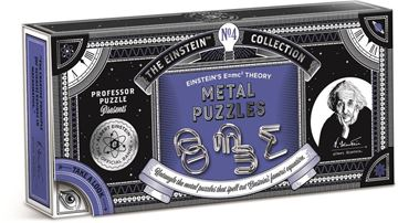 Picture of Professor Puzzle - E=MC2 Metal Puzzles