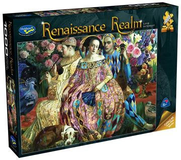 Picture of Holdson Puzzle - Renaissance Realm S2 1000pc (Love Interest)