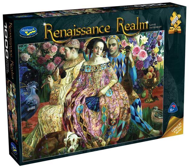 Picture of Holdson Puzzle - Renaissance Realm S2 1000pc (Love Interest)