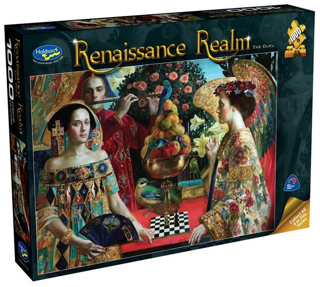Picture of Holdson Puzzle - Renaissance Realm S2 1000pc (The Duel)