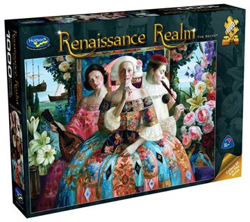 Picture of Holdson Puzzle - Renaissance Realm S2 1000pc (The Secret)