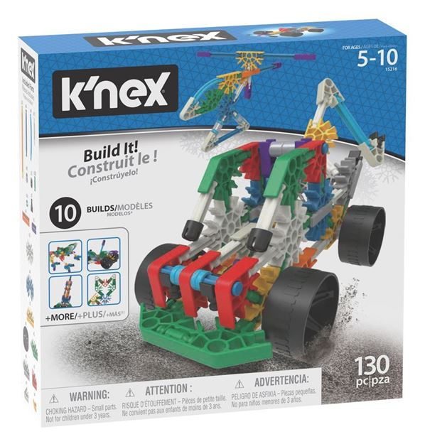 Picture of Knex - 10 Model Building Fun