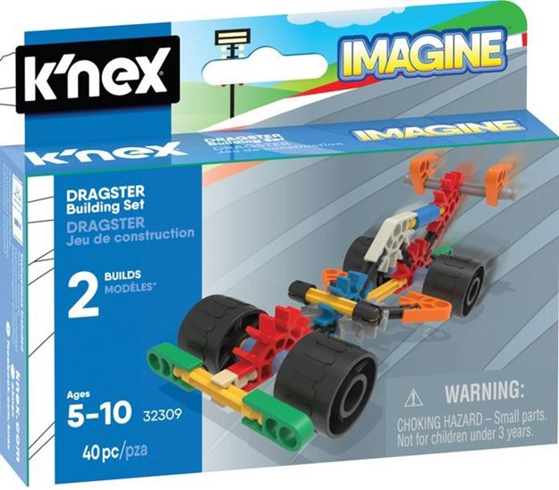 Picture of Knex - Dragster Micro 40pc Building Set