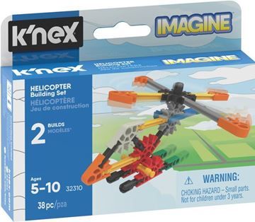 Picture of Knex - Helicopter Micro 38pc Building Set