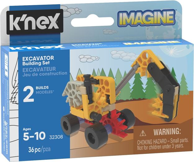 Picture of Knex - Excavator Micro 36pc Building Set