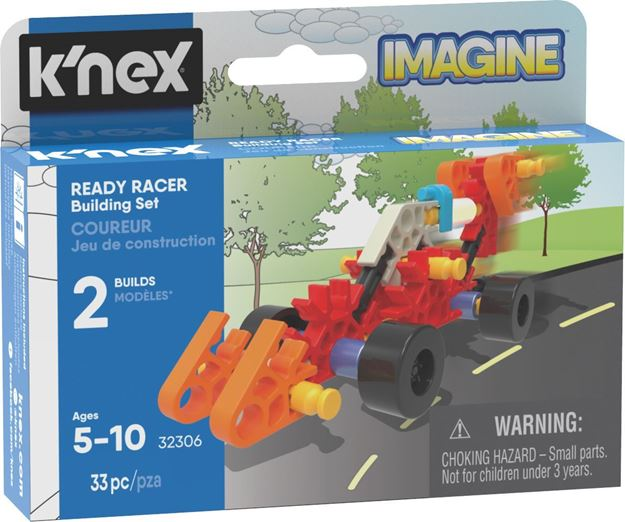 Picture of Knex - Ready Racer Micro 33pc Building Set
