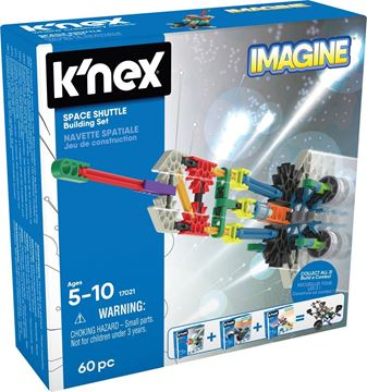 Picture of Knex - Imagine Space Shuttle 60pc Set