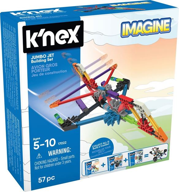 Picture of Knex - Jumbo Jet 57pc Set