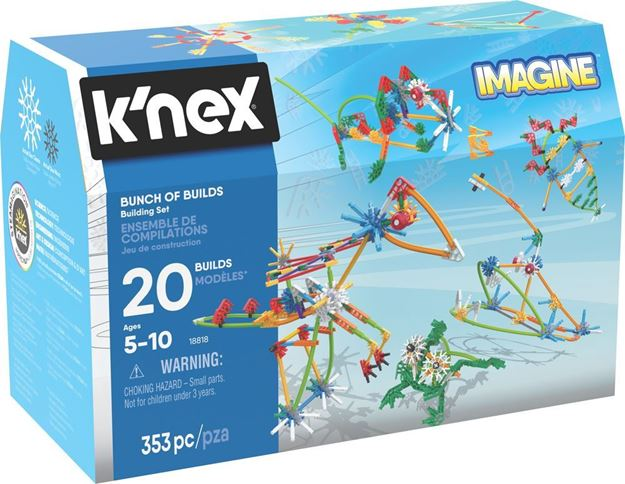 Picture of Knex - Bunch of Builds