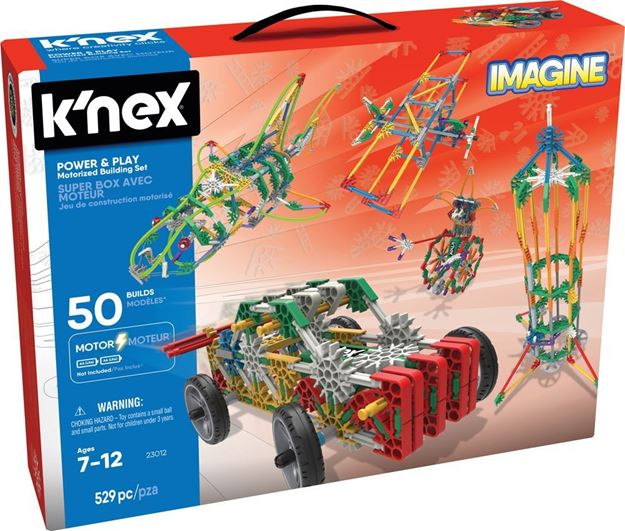 Picture of Knex - Power and Play 529pc Set