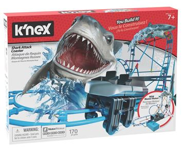 Picture of Knex - Table Top Shark Attack Roller Coaster