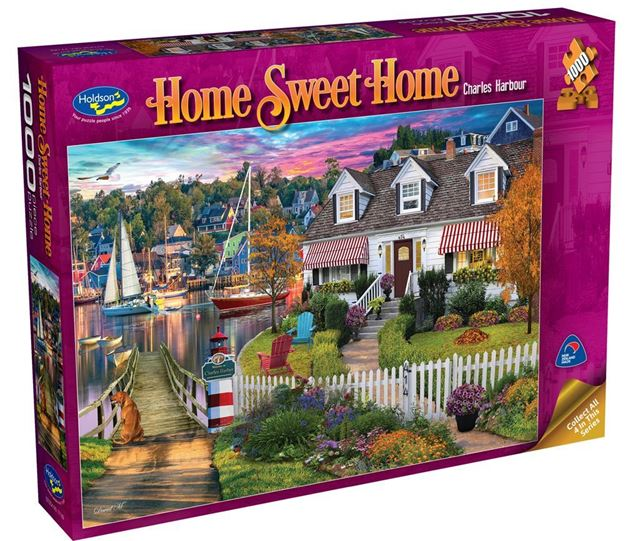 Picture of Holdson Puzzle - Home Sweet Home S2 1000pc (Charles Harbour)