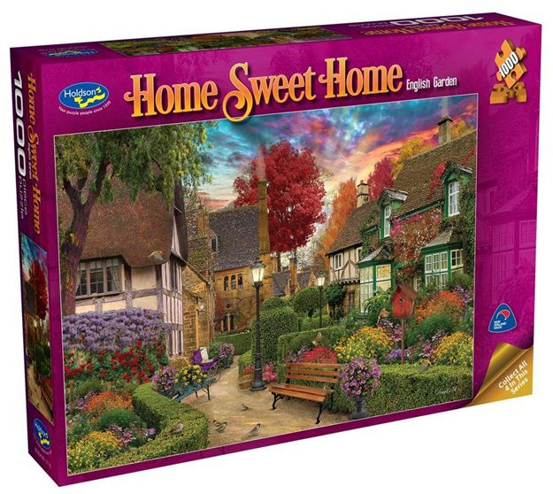 Picture of Holdson Puzzle - Home Sweet Home S2 1000pc (English Garden)