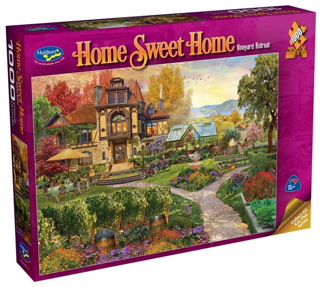 Picture of Holdson Puzzle - Home Sweet Home S2 1000pc (Vineyard Retreat)