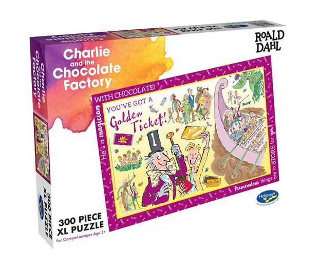 Picture of Holdson Puzzle - Roald Dahl 300pc XL (Charlie and the Chocolate Factory)