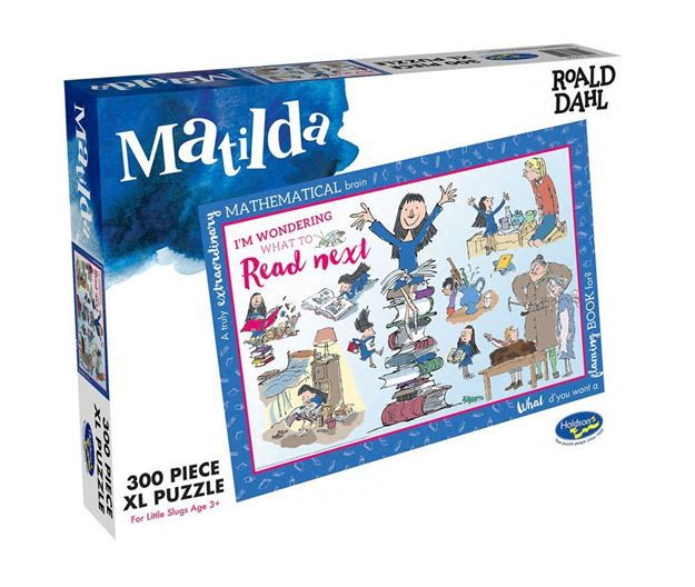 Picture of Holdson Puzzle - Roald Dahl 300pc XL (Matilda - I'm Wondering What To Read)