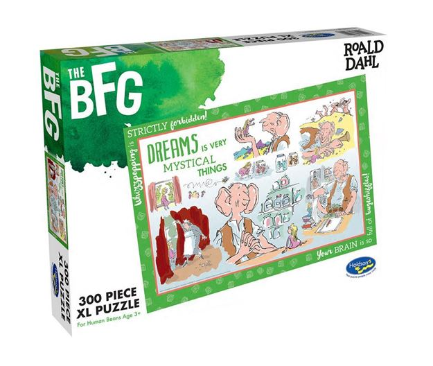Picture of Holdson Puzzle - Roald Dahl 300pc XL (The BFG)