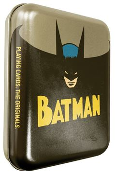 Picture of Batman Playing Cards In Tin Case