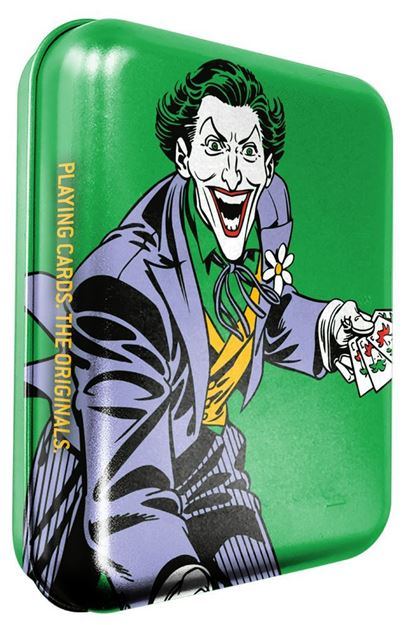 Picture of The Joker Playing Cards In Tin Case
