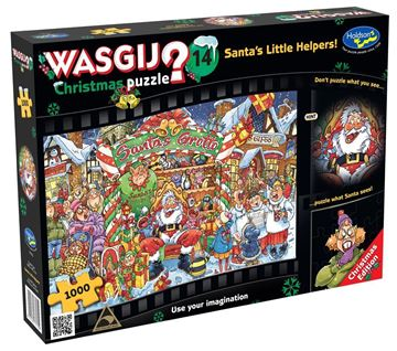 Picture of Holdson Puzzle - Wasgij Christmas 14 - 1000pc (Santa's Little Helper)