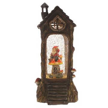 Picture of Cotton Candy House - Red Gnome and Mushroom
