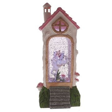 Picture of Cotton Candy House - Glitter Blue Fairy & Unicorn