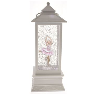 Picture of Cotton Candy White Lantern - Ballerina with Swan Arms