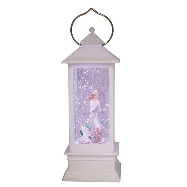 Picture of Cotton Candy White Lantern - Mermaid