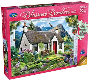 Picture of Holdson Puzzle - Blossom Borders S2 500pc XL (Lochside Cottage)