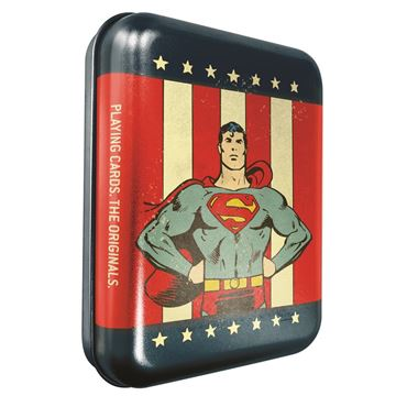 Picture of Superman Playing Cards In Tin Case