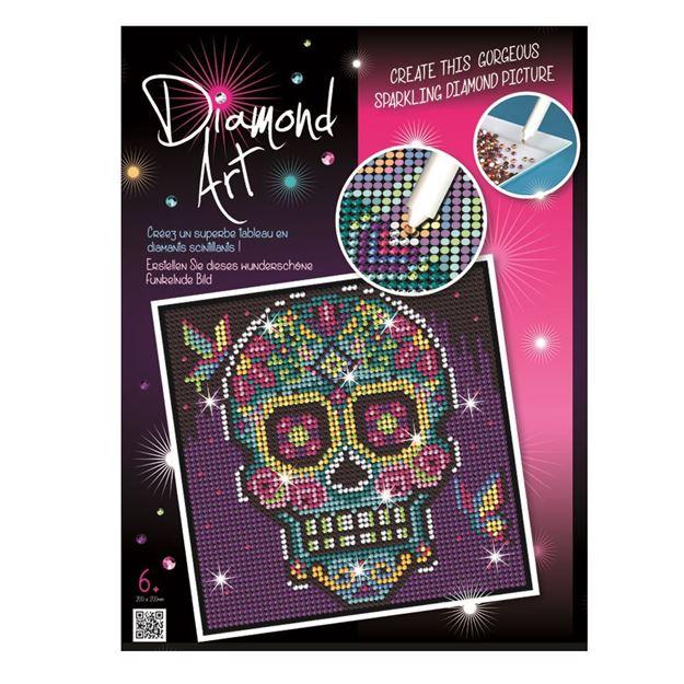 Picture of Diamond Art - Sugar Skull