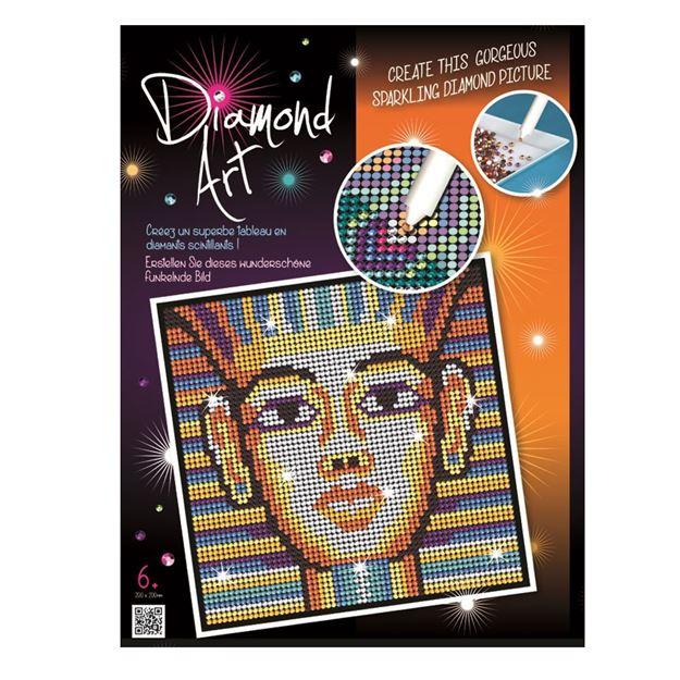 Picture of Diamond Art - Tutankhamun