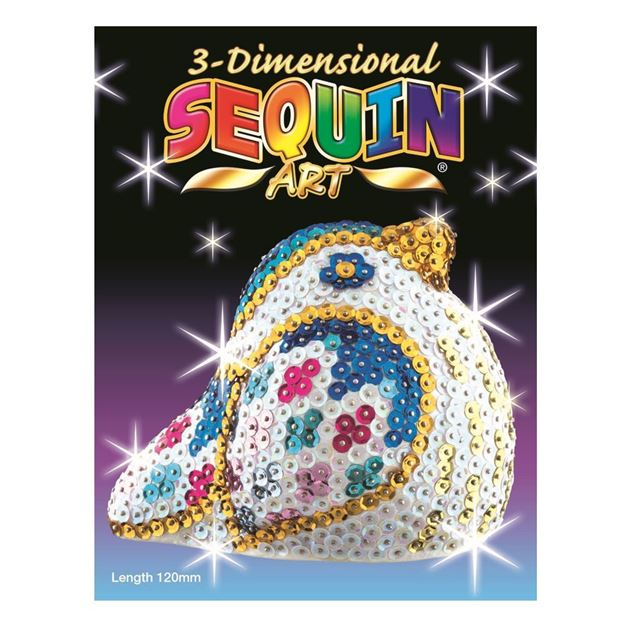 Picture of Sequin Art - 3D Songbird