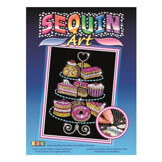 Picture of Sequin Art - Cake