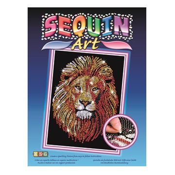 Picture of Sequin Art - Lion