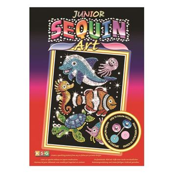 Picture of Sequin Art - Sealife Junior