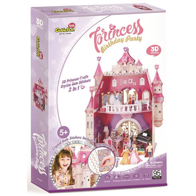 Picture of 3D Puzzle - Birthday Party Castle