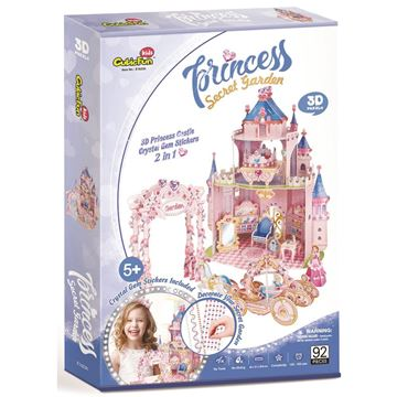 Picture of 3D Puzzle - Secret Garden Castle