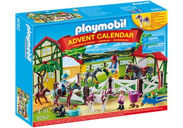 Picture of Playmobil - Horse Farm Advent Calendar