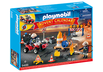 Picture of Playmobil - Fire Rescue Advent Calendar