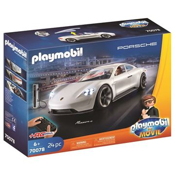 Picture of Playmobil - Porshe Mission E with Rex Dasher