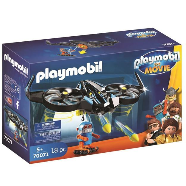 Picture of Playmobil - Robotitron with Drone