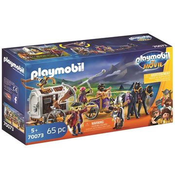 Picture of Playmobil - Charlie with Prison Wagon